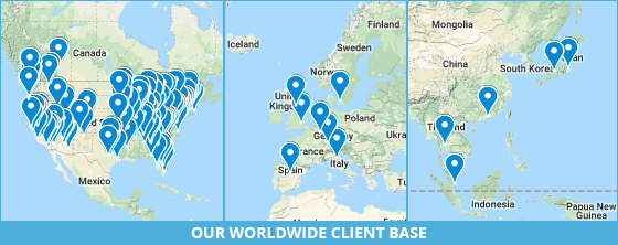 global client base